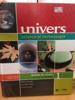 Manuel univers, science et technologie