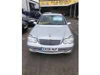 Mercedes Benz C200 2.1TD 06 plate Classic SE