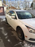 2011 Chevrolet Cruze LT Turbo with winter tires