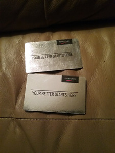 Sport check gift cards  best offer  can have them
