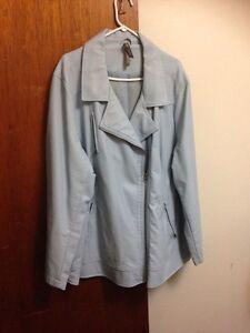 Pennington 4x light blue look like leather jacket