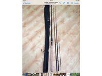 Oakwood twin top 11' Barbel rods