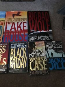 James Patterson books  Prince George British Columbia image 2
