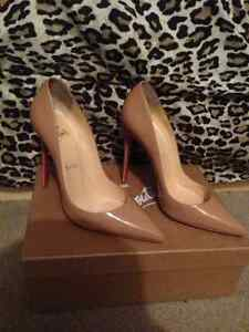 Christian Louboutin - So Kate's Nude shoes for sale