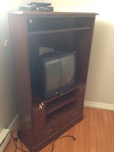 Tv stand desk and sofa bed