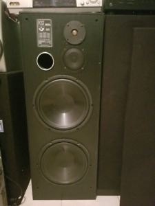 "Tower Speaker's - 2x 12"" subs"