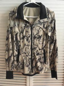 Lululemon Marble Print Jacket - Size 4