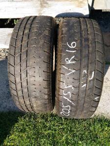 """2 pneus d'été 16"""" Yokohama AVS 205/55VR16"""