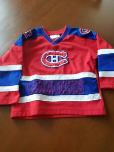 Chandail des Canadiens 3 ans enfant