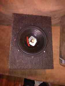 10 inch subwoofer in the Box