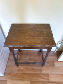 Small Table with Top Opening Lid Desk Like