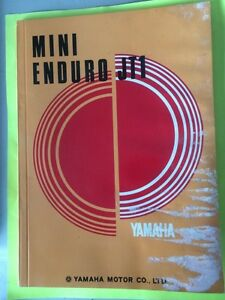 1971 Yamaha Mini Enduro JT1 Service Manual 60cc