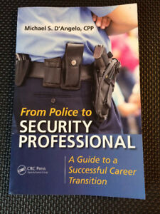 From Police to Security Professional: Paperback Book LQQK!!