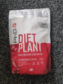 Diet PHD plant vegan protein powder + free shaker