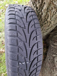 WINTER TIRES WITH RIMS 215  70R15