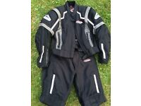 Hein Gericke Motorcycle Suit (Jacket & Trousers) Pro Sports