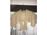 Size 12 knitted shawl
