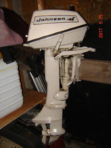 6 hp Johnson out board 2 stroke