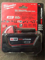 Milwaukee M18 battery