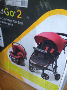 BRAND NEW, still in box Safety 1st Step and Go 2 Travel System