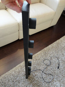 """36"""" Wide 6 Bulb Flat Black Light Strip With 120v cord attached Kitchener / Waterloo Kitchener Area image 2"""