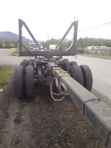 2004 tridem pole peerless log trailer Prince George British Columbia image 7