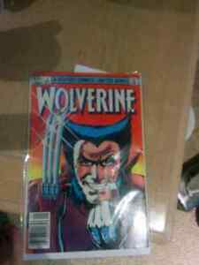 Mint condition first edition wolverine