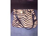M&S leather handbag as new