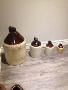 Crock jugs