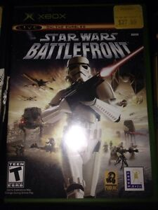 Some rare working Star Wars game for the original xbox Strathcona County Edmonton Area image 1