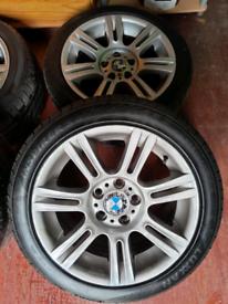 "*Genuine* BMW 17"" M Sport Alloys"