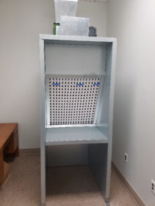 spray booth and air make up unit