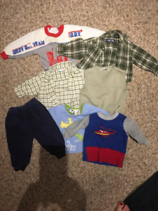 Baby lot (size 3-6 months) 7 items