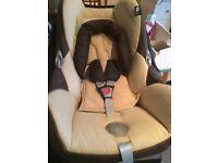 Maxi Cozi car seat with Isofix