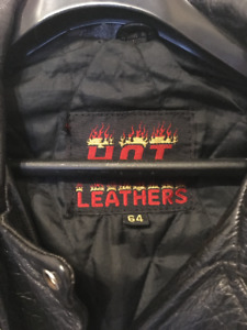 MENS 5XL ALL LEATHER BIKERS JACKET