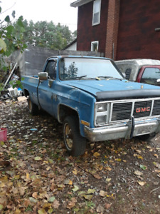 85 chev k10 4x4 for parts.