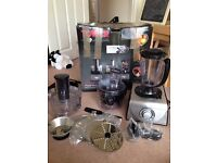 Tower T18001 blender, slicer, juicer and food processor