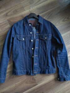 FRANK AND OAK X NAKED AND FAMOUS RAW SELVEDGE DENIM JACKET