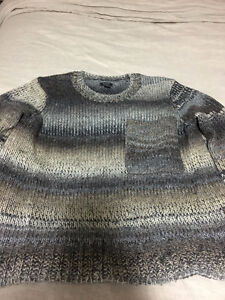 Roots Grey Cabin Sweater
