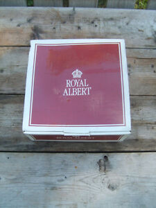 Brand New: Royal Albert 3 Piece Cup & Saucer Set (September)