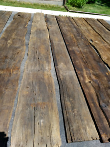 Barnboard Planks - Very Wide and Long