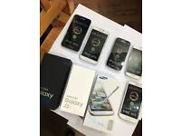 Samsung galaxy phones available all with warranty