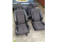Mg zs rover 45 half leather seats