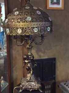 Lampe Filigree d'or