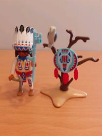 Playmobil 70062 Native American chief