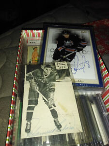 Box of High End Hockey Cards