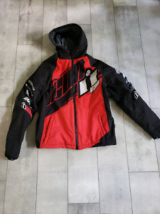 Icon Team Merc motorcycle jacket