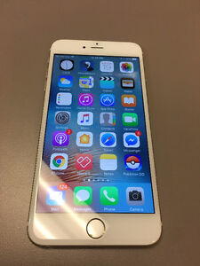 iPhone 6 plus 128 gb white and gold
