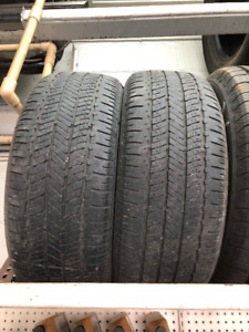 2 pneus d'ete p205/55r16 brigestone