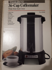 West Bend 36 Cup Coffee Urn